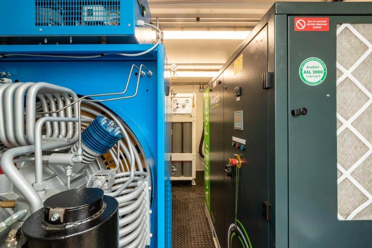 side view of Avelair EVO compressor