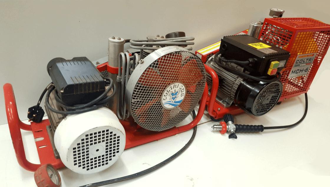 1991 model of MCH 6 compressor
