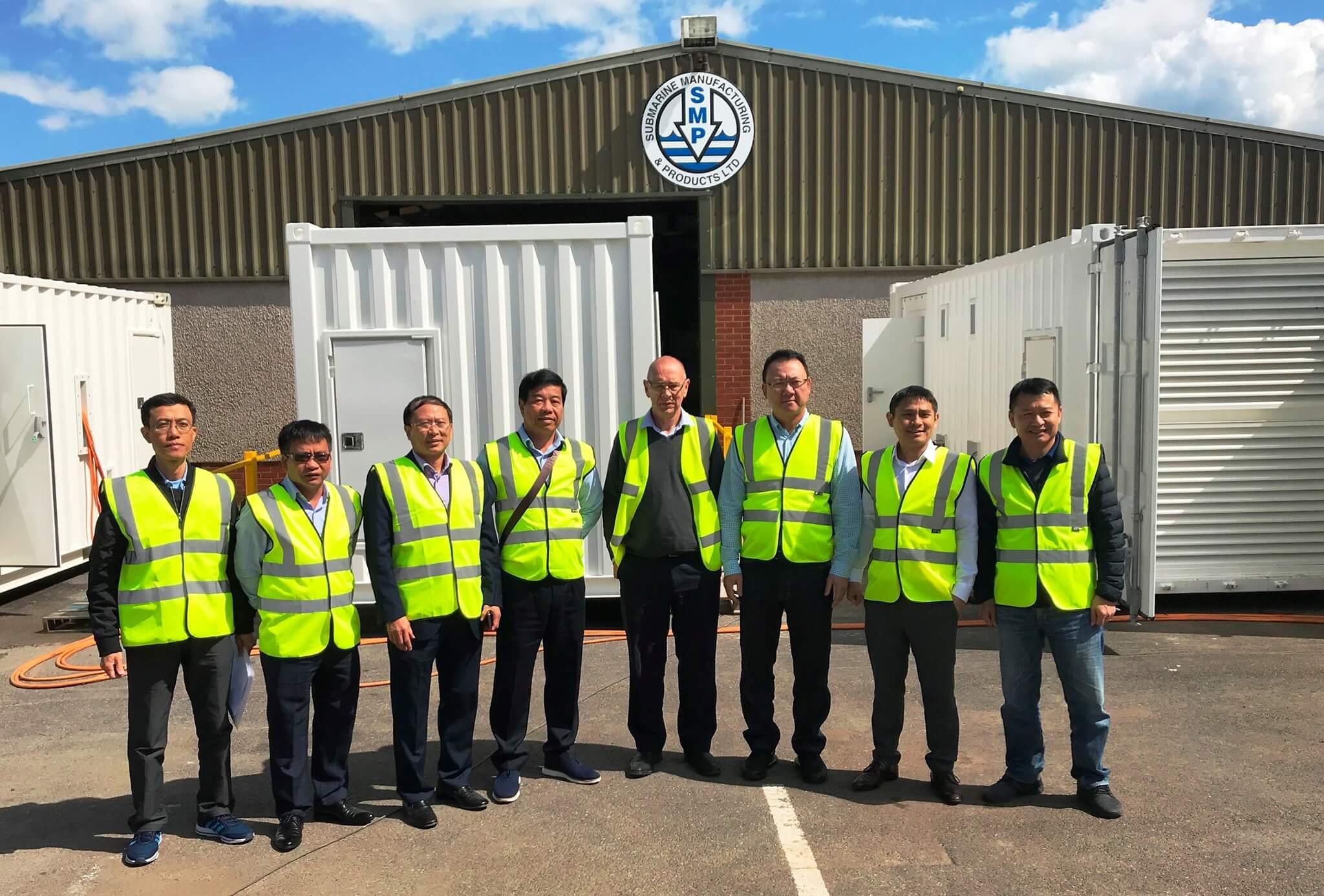 SMP ASIA team visit