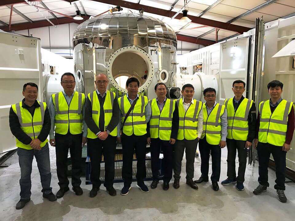 ASIA team visit SMP