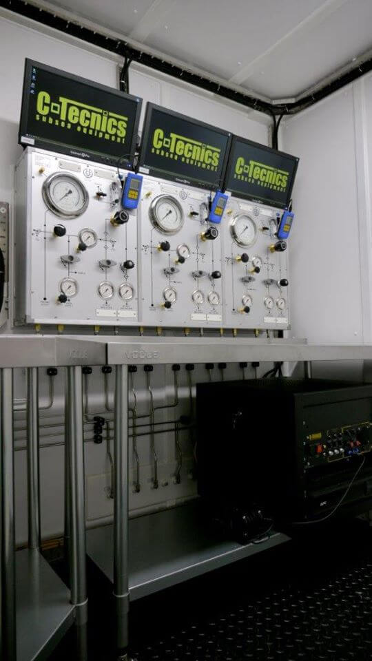 c-technics subsea control panel system