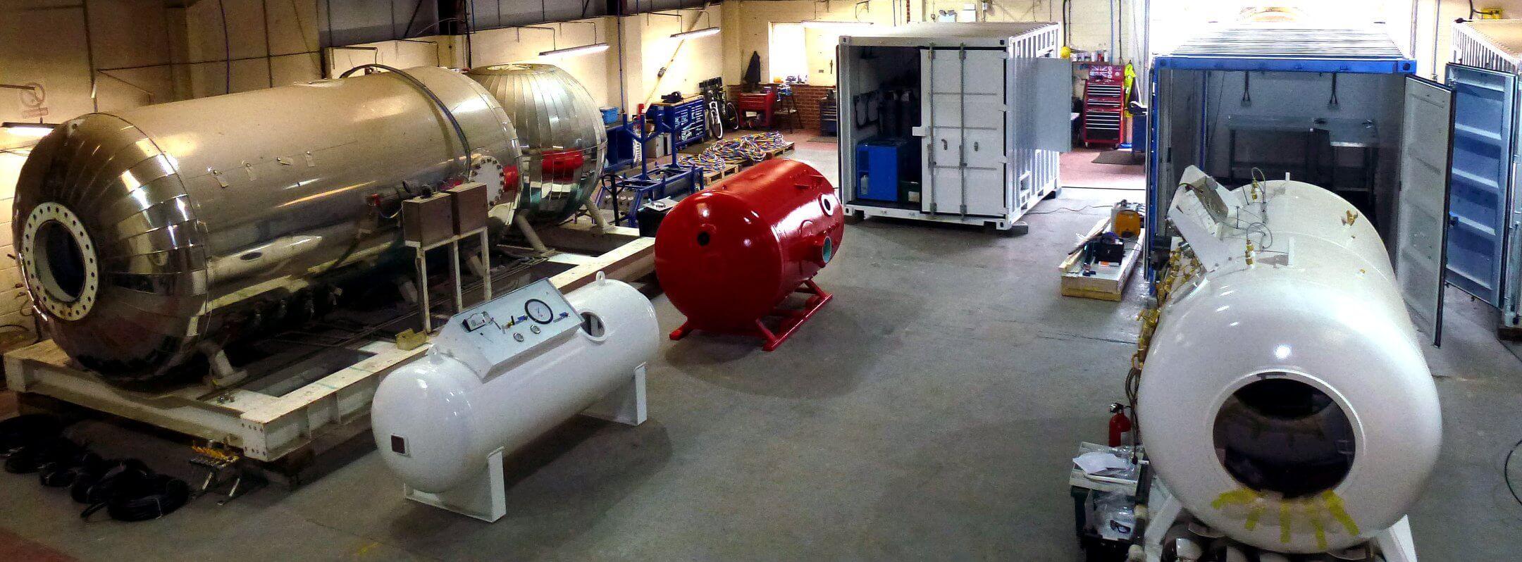 decompression chambers