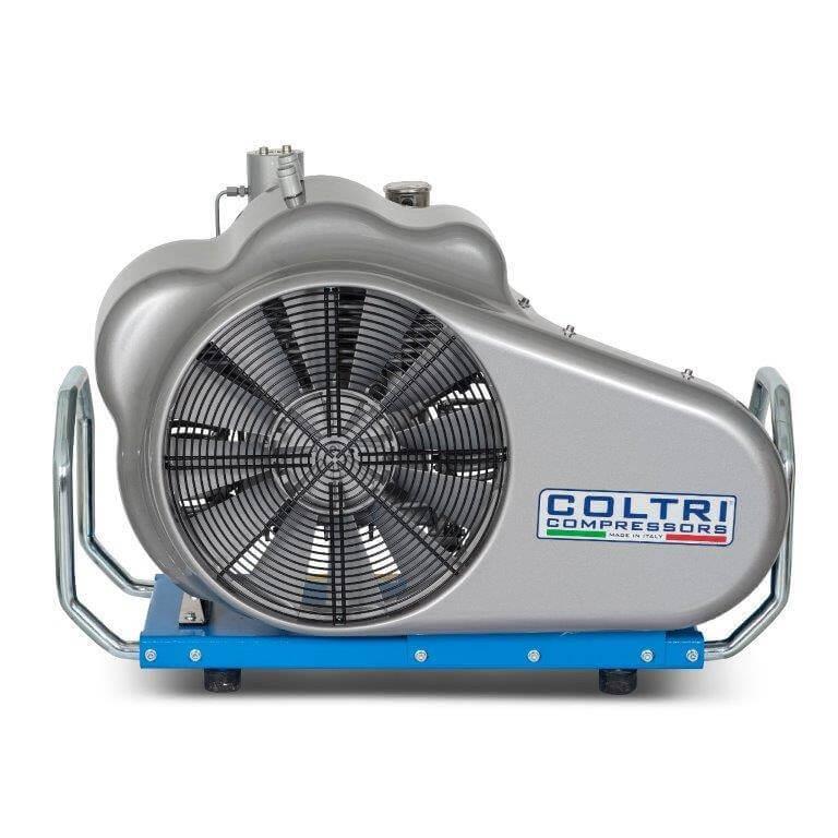 side profile photo of coltri compressor