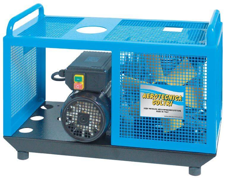 Aerotecnica Coltri Compressor isolated