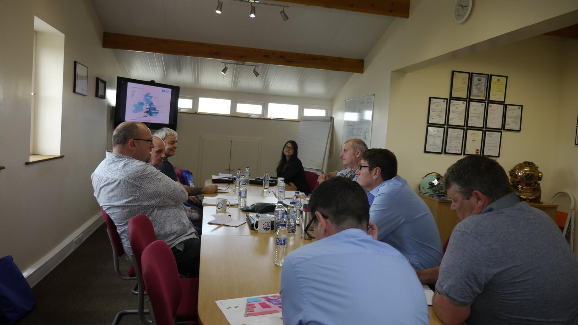 SMP staff in Northern Regional Meeting