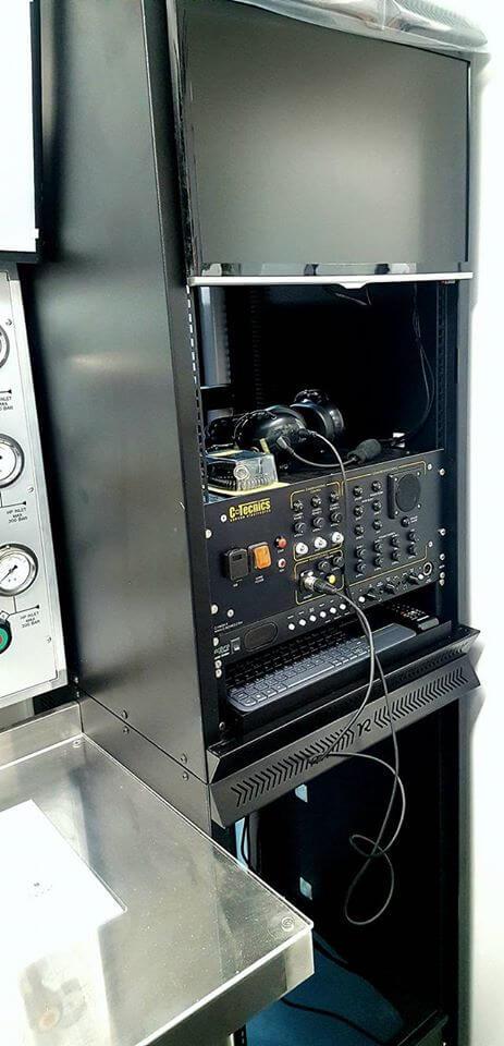 dive control testing equipment