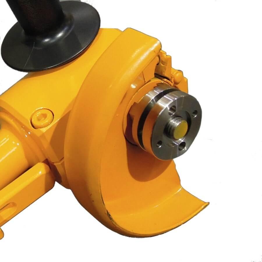 close up of head of PG03 underwater grinder
