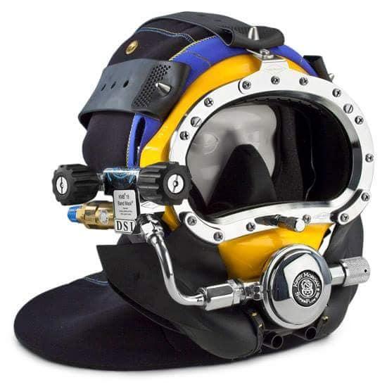 KMB commercial diving masks