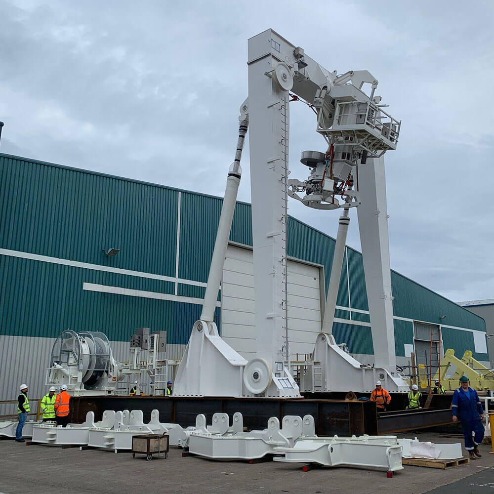 testing of submarine rescue system