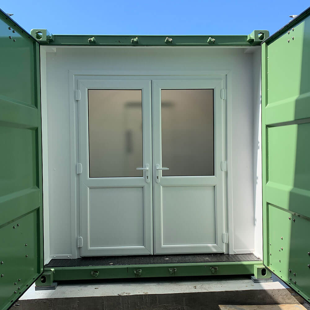 door to hyperbaric chamber facility in Guernsey