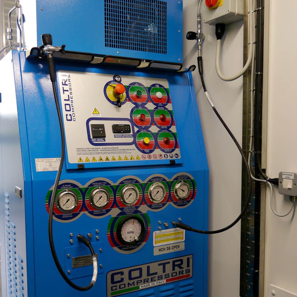 Coltri compressor Unit for hyperbaric chamber