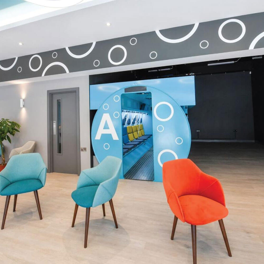 reception of Ireland clinic for oxygen therapy