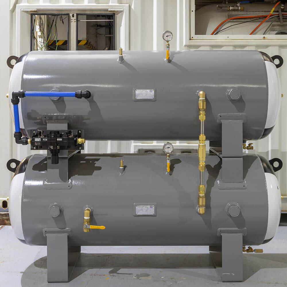 side profile of air compressor units