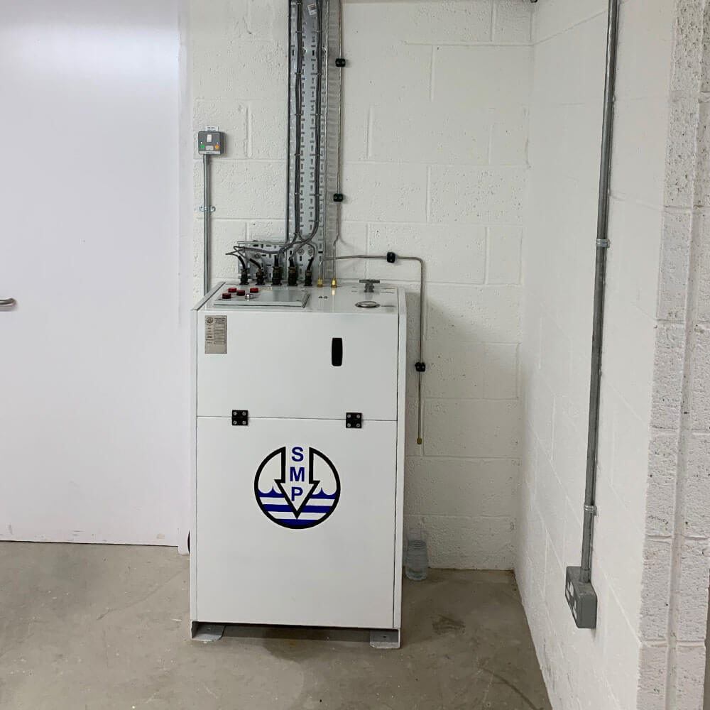 SMP branded unit for jersey oxygen therapy unit