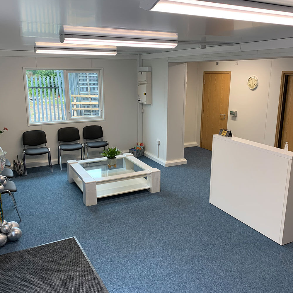 reception of oxygen therapy centre