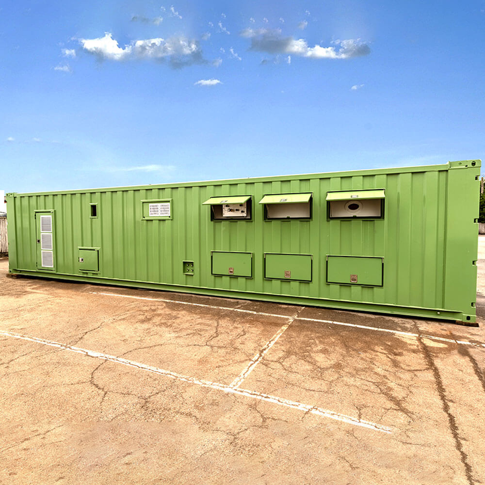 containerised oxygen therapy chamber