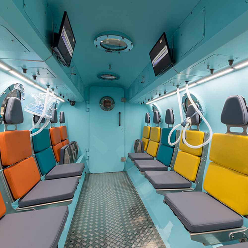 12 seater hyperbaric chamber facility