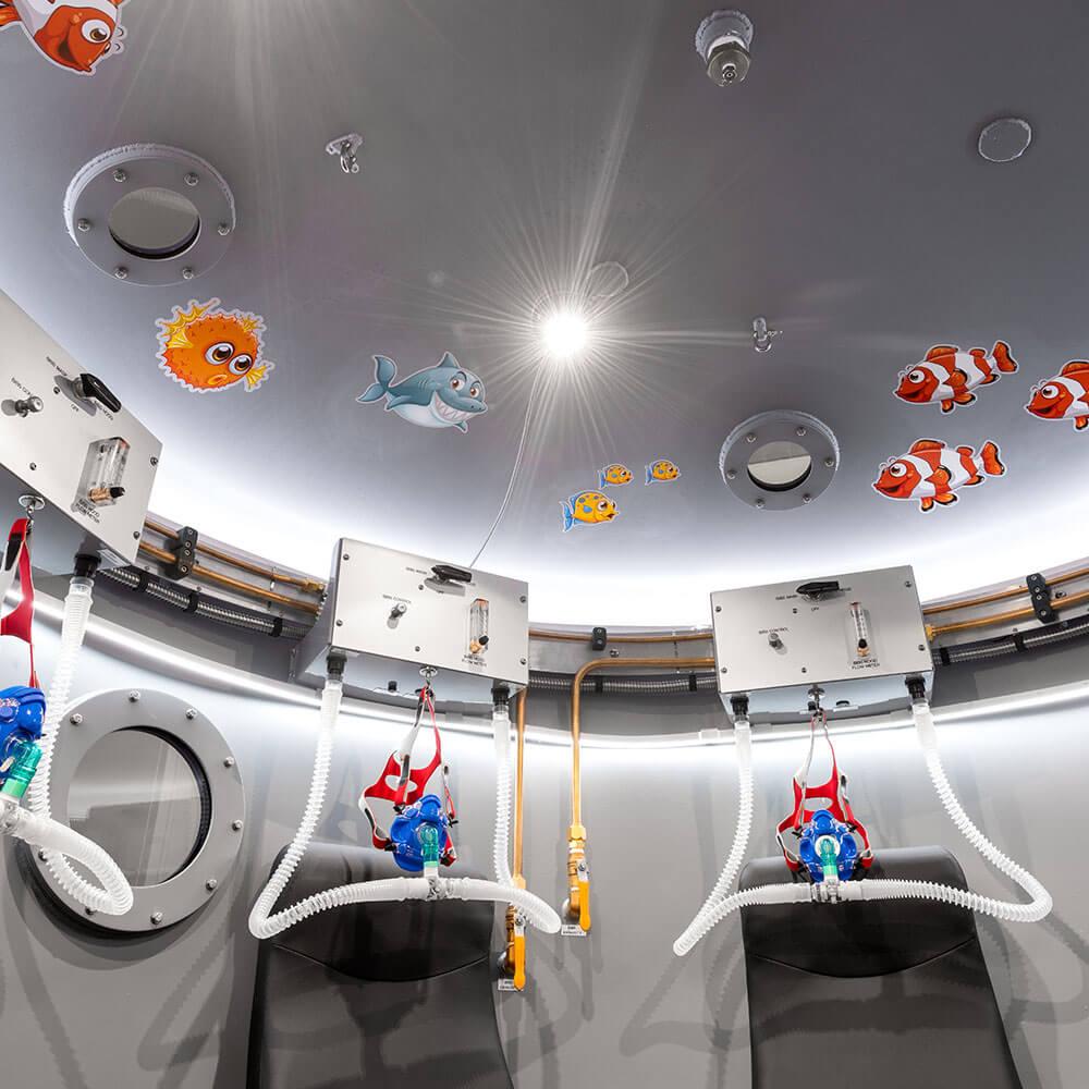 themed hyperbaric chamber facility