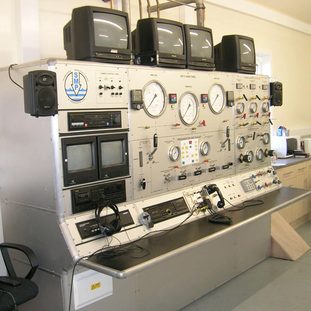 Marine Research Facility Control Unit