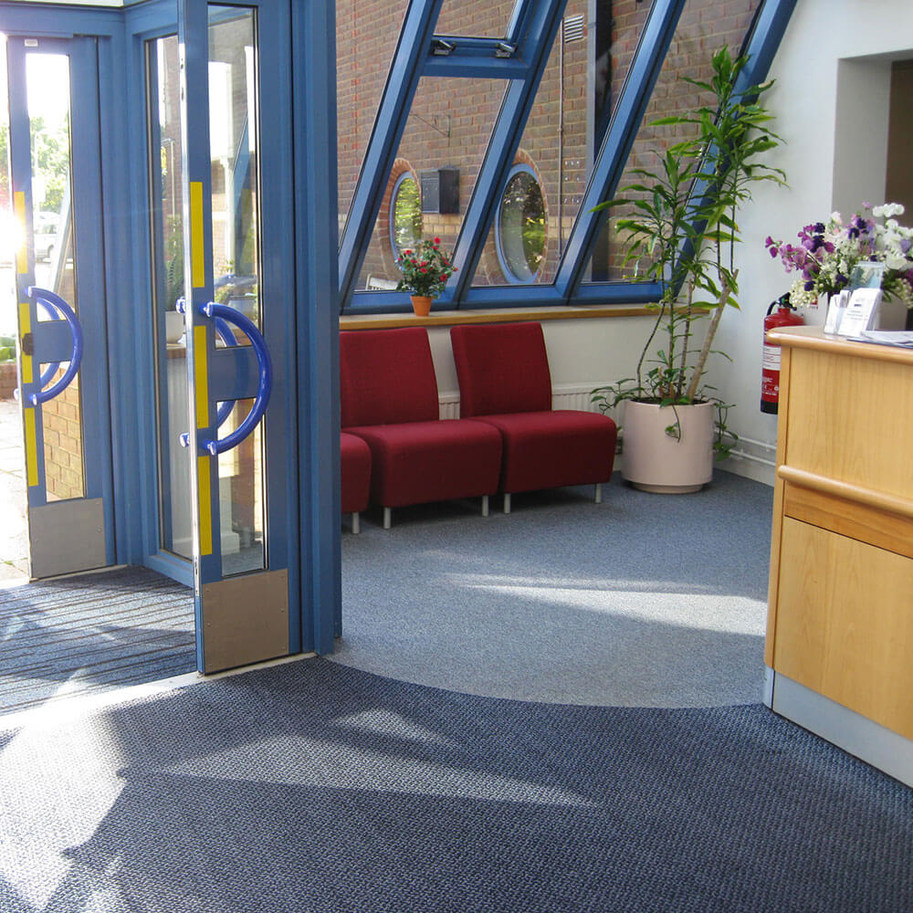 reception of reading university private clinic