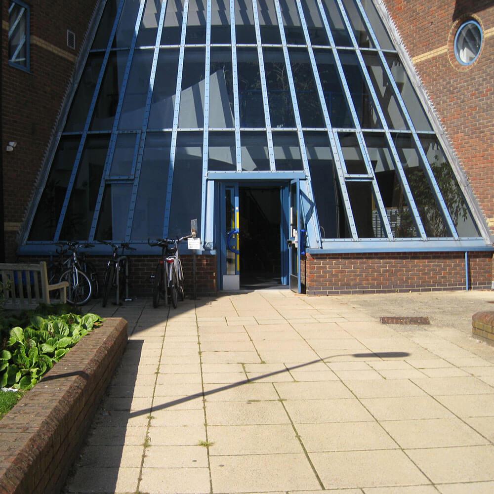 Reading Clinic Entrance