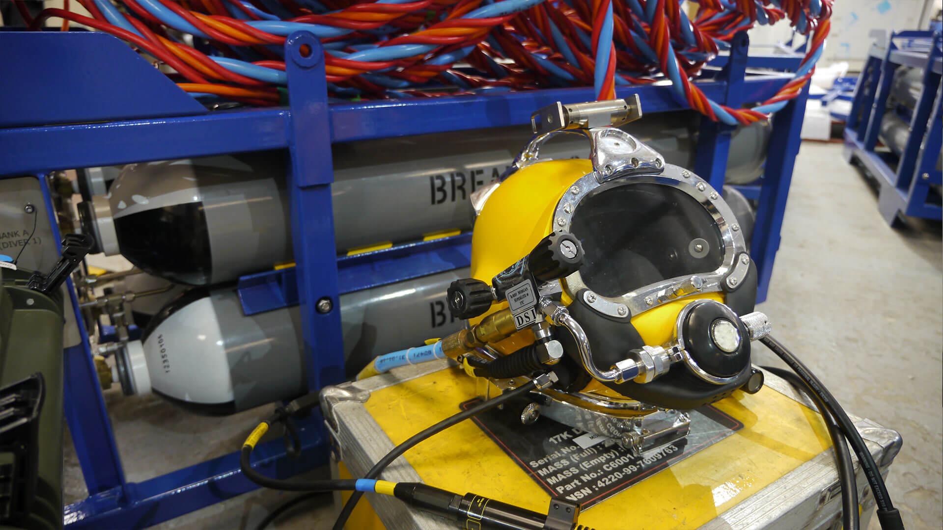 Scuba Replacement Package - commercial diving helmet