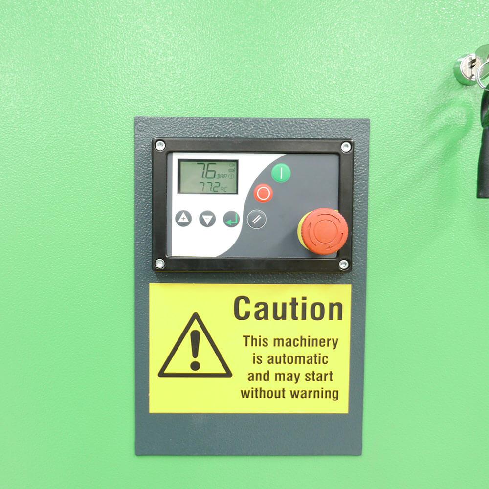 Nitrogen Generator System Stop Button