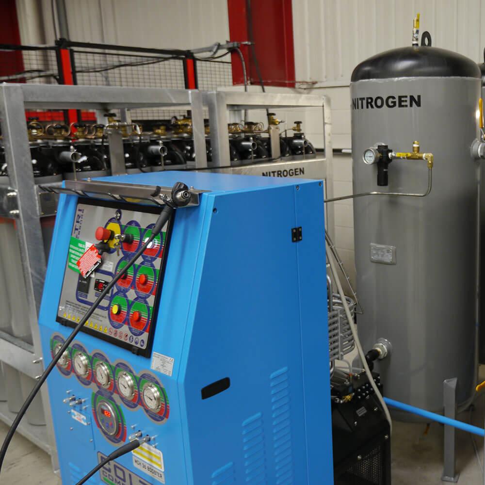 Nitrogen Gas Container & Nitrogen Generation System