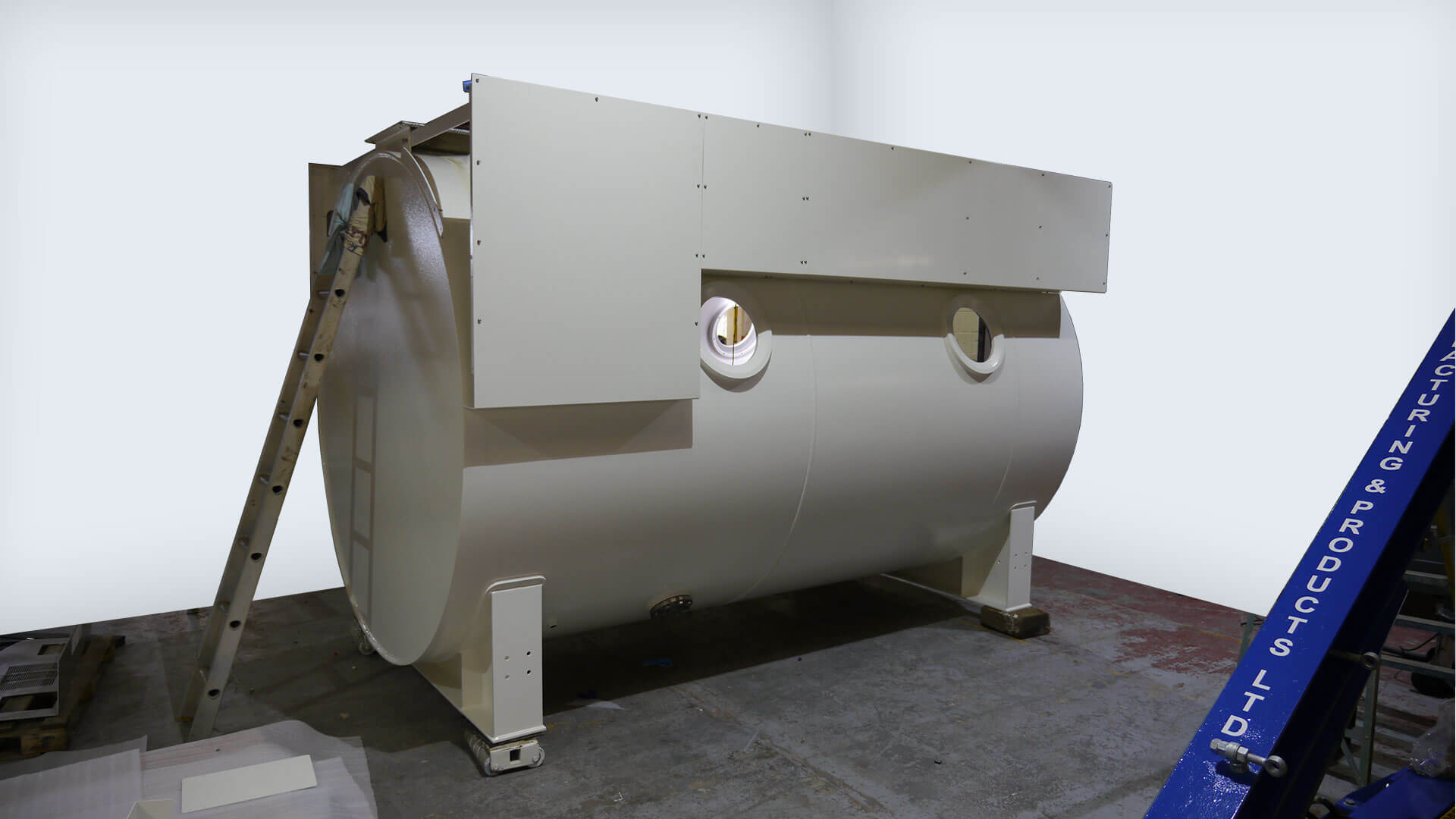 Hyperbaric Chamber built to TC-10 specification