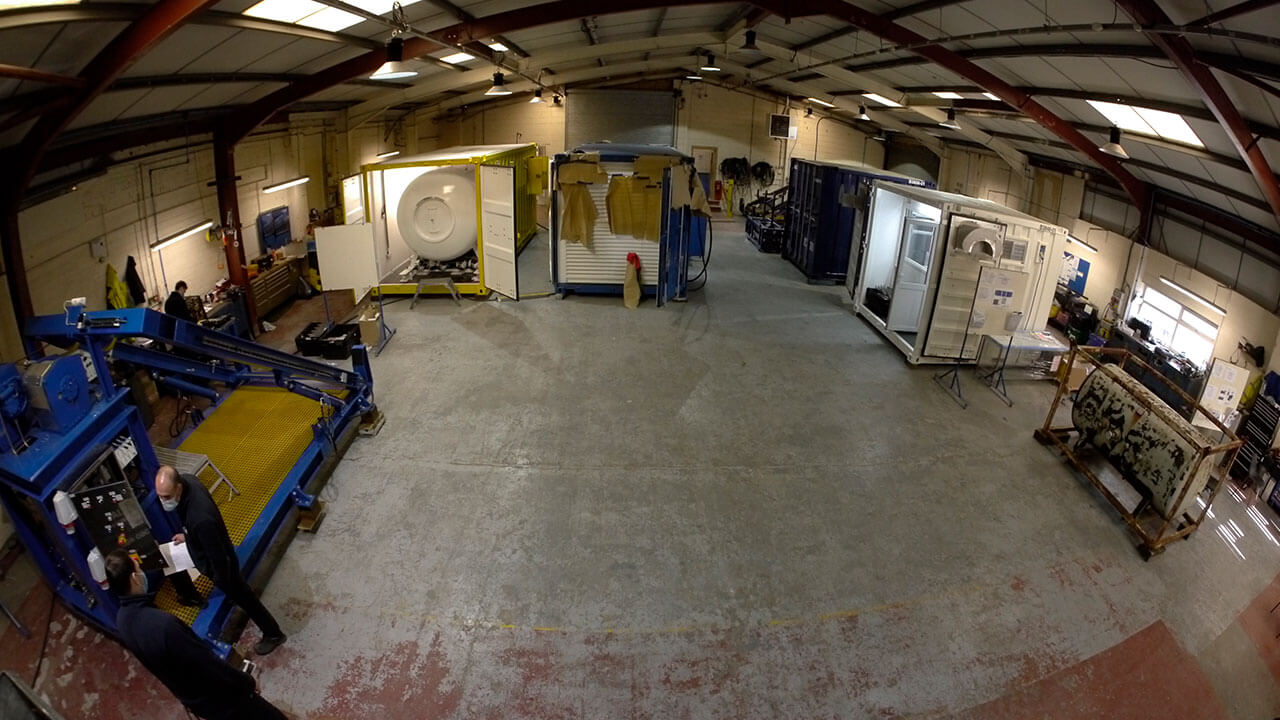 Overview of SMP workshop interior