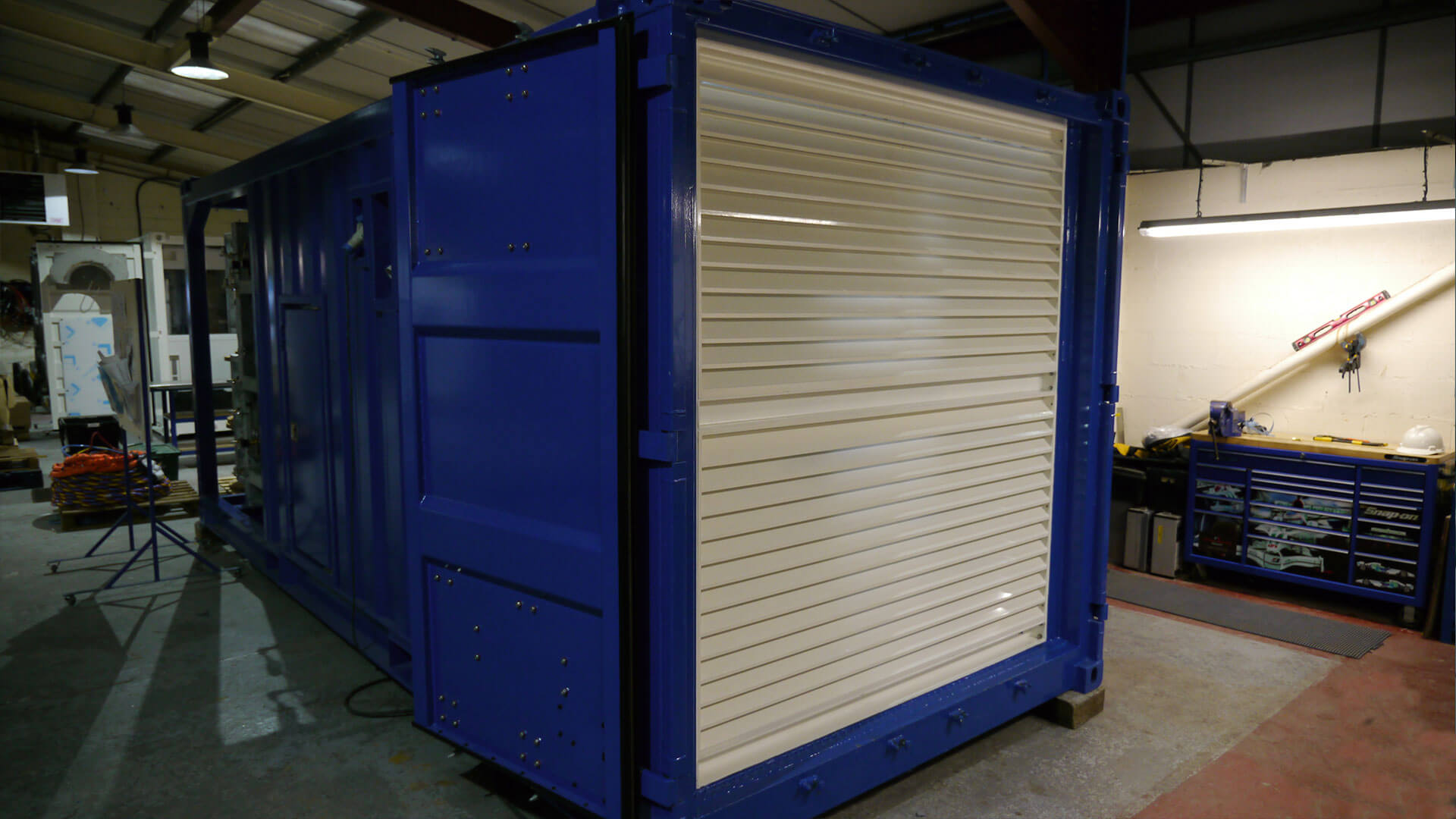 20ft containerised gas supply system