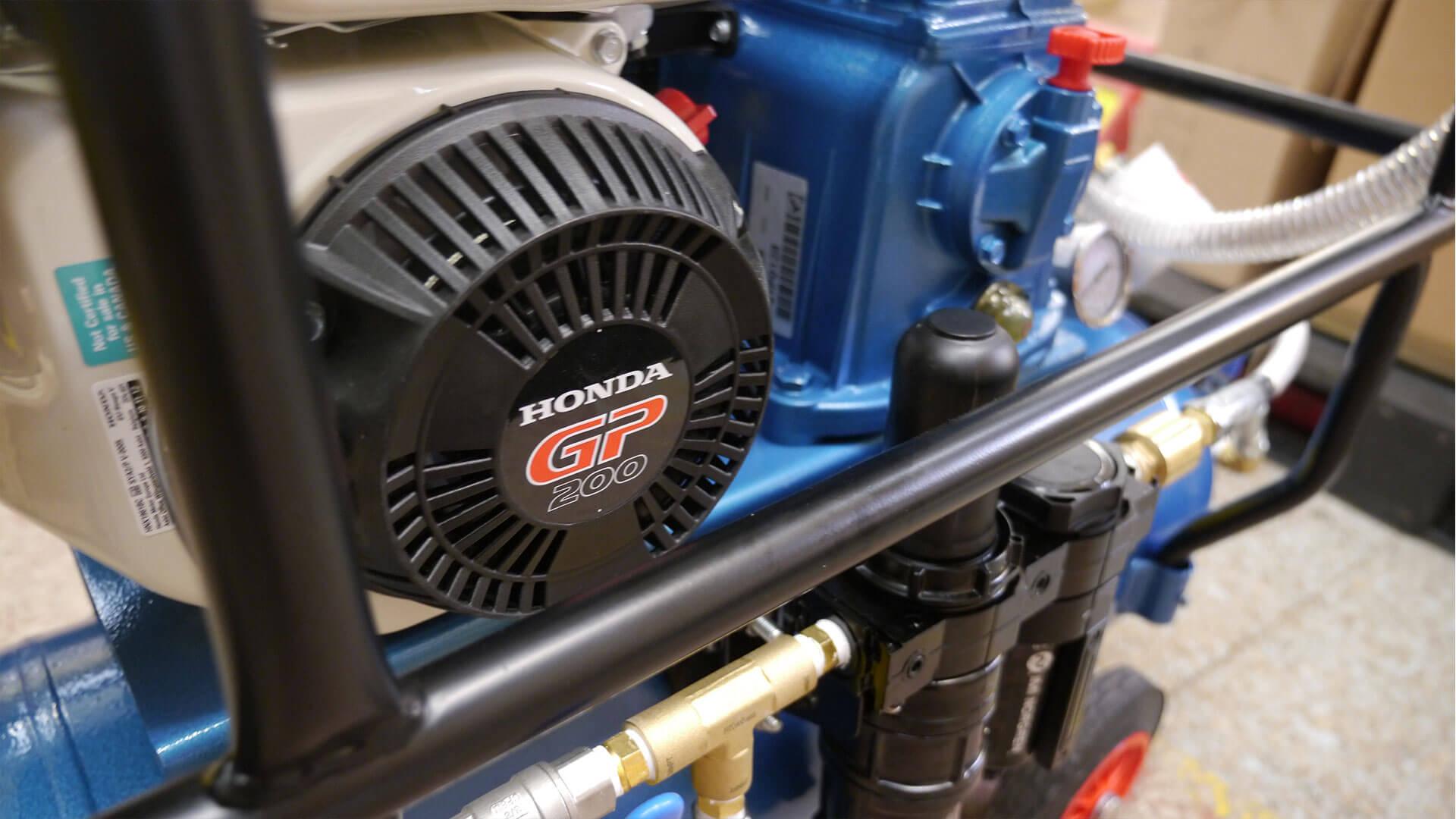 Multi Option 15 cfm LP Air Compressor