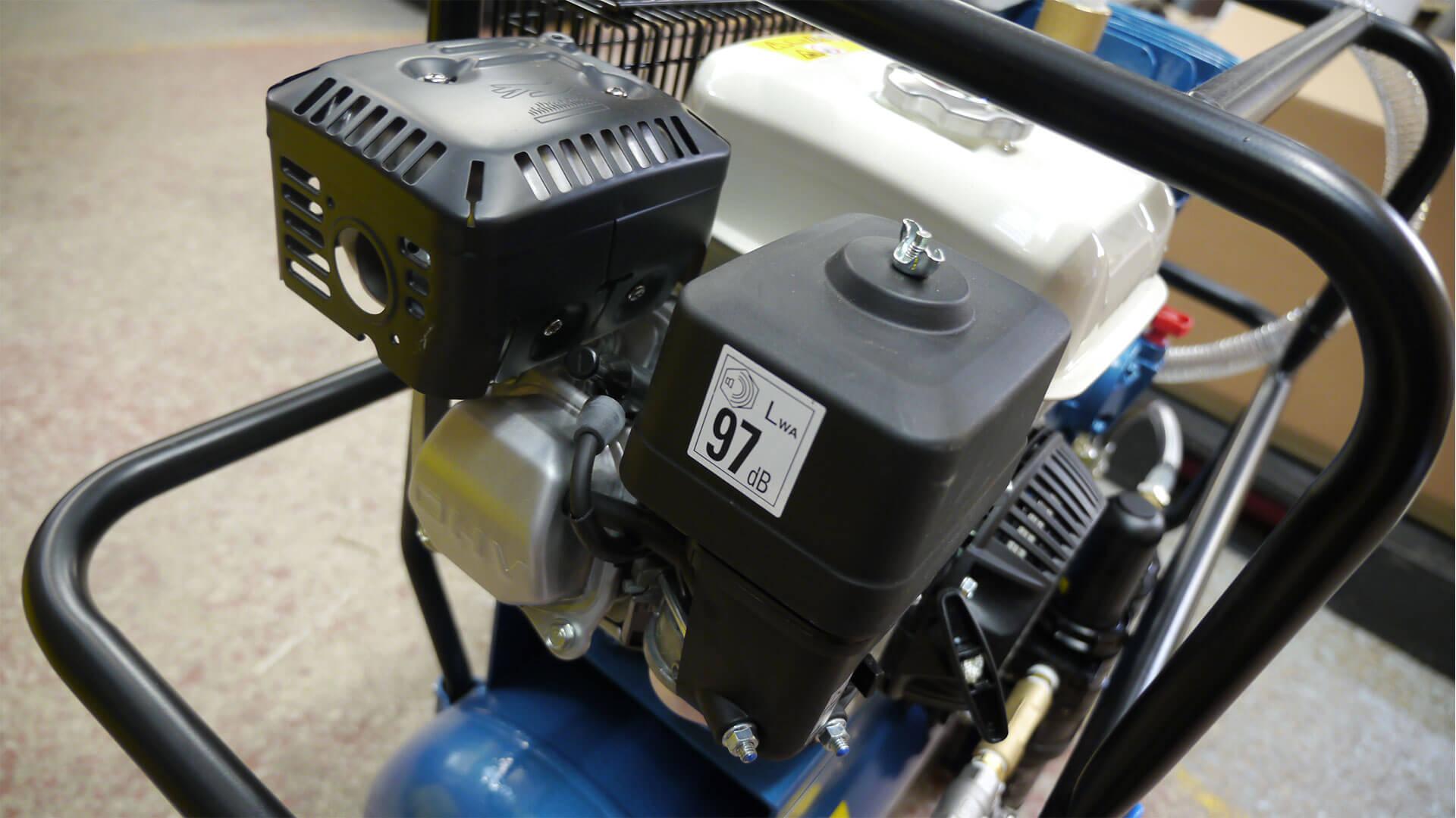 15 CFM LP Air Compressor